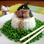 אורז מאודה עם אפונה