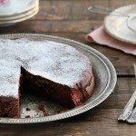 עוגת שוקולד וריקוטה
